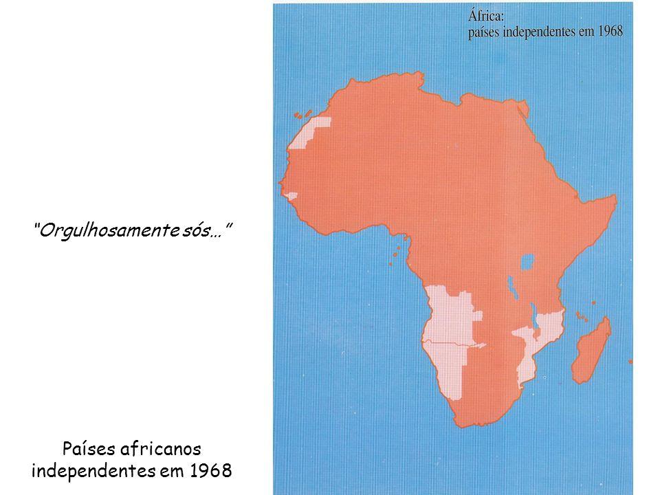 Países africanos independentes em 1968