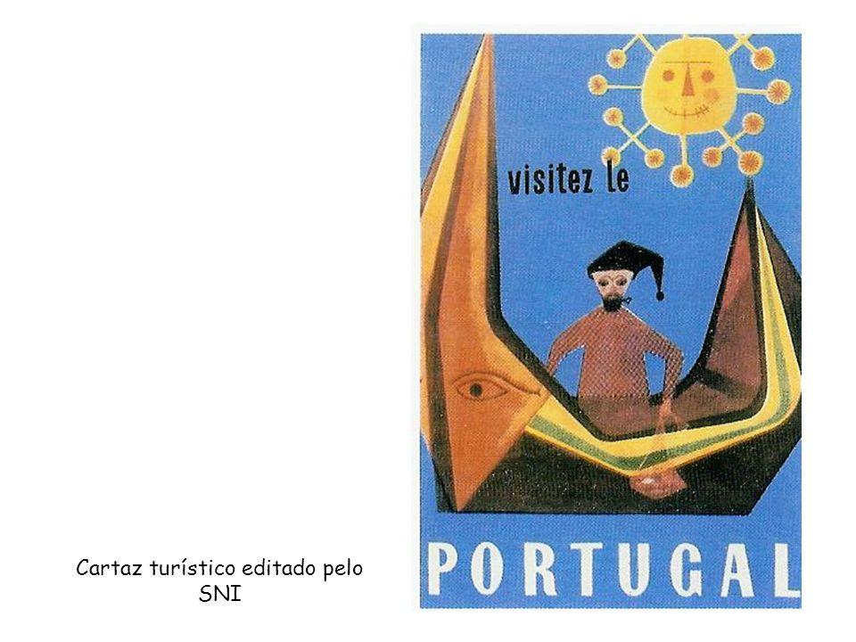 Cartaz turístico editado pelo SNI