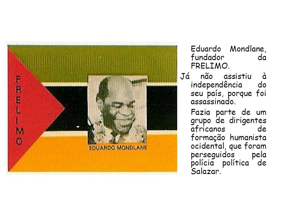 Eduardo Mondlane, fundador da FRELIMO.