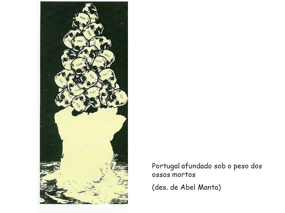 Portugal afundado sob o peso dos ossos mortos