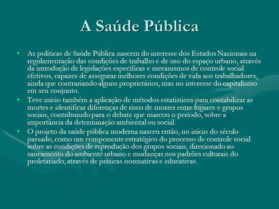 A Saúde Pública