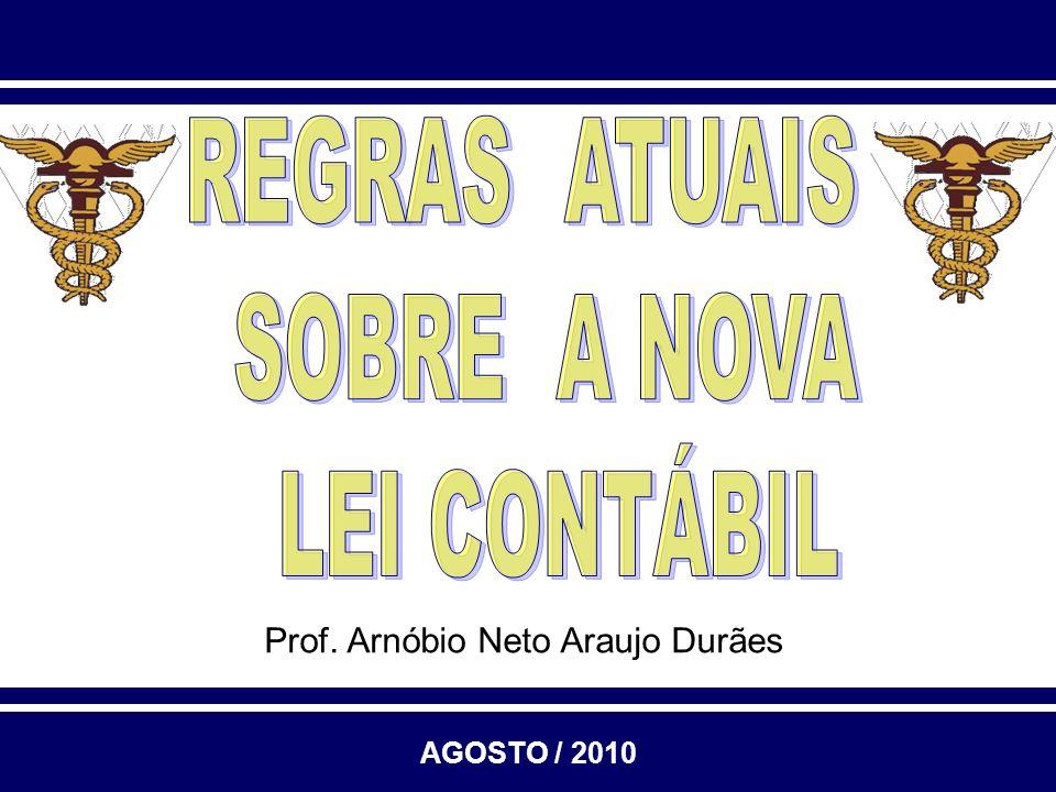 Prof. Arnóbio Neto Araujo Durães