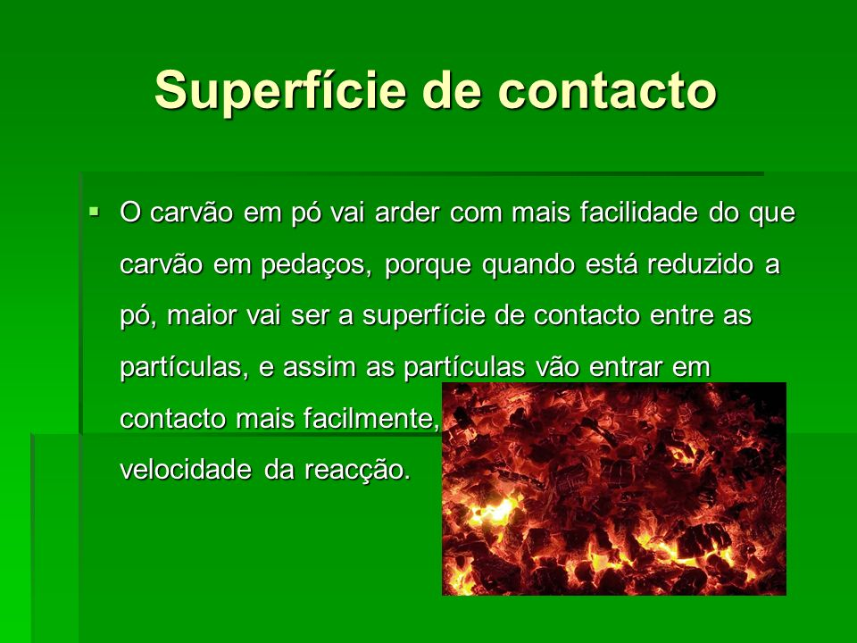 Superfície de contacto