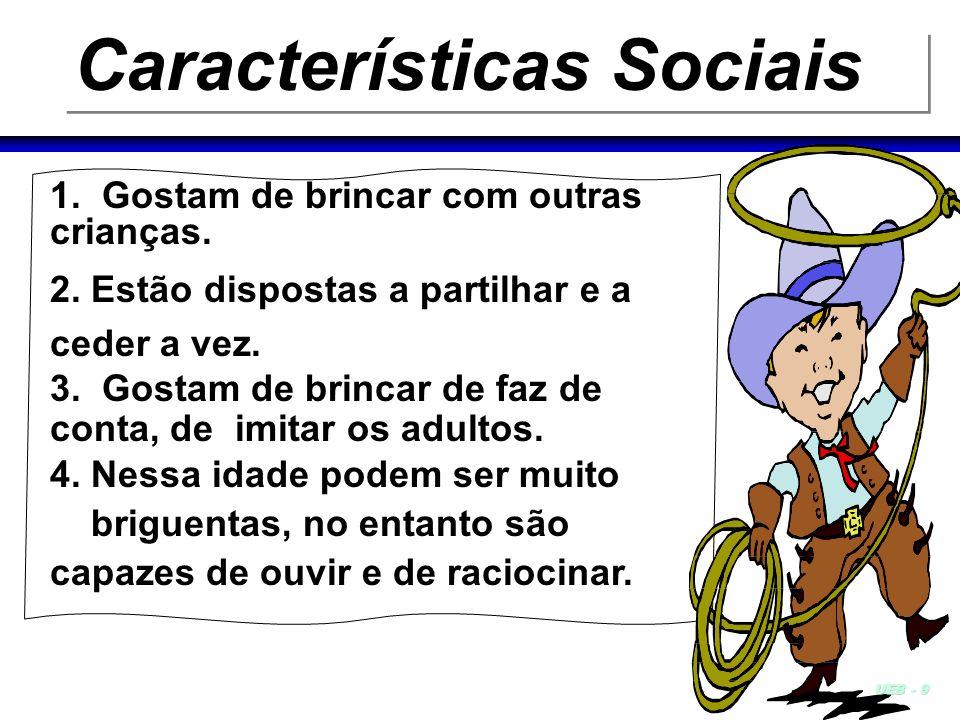 Características Sociais