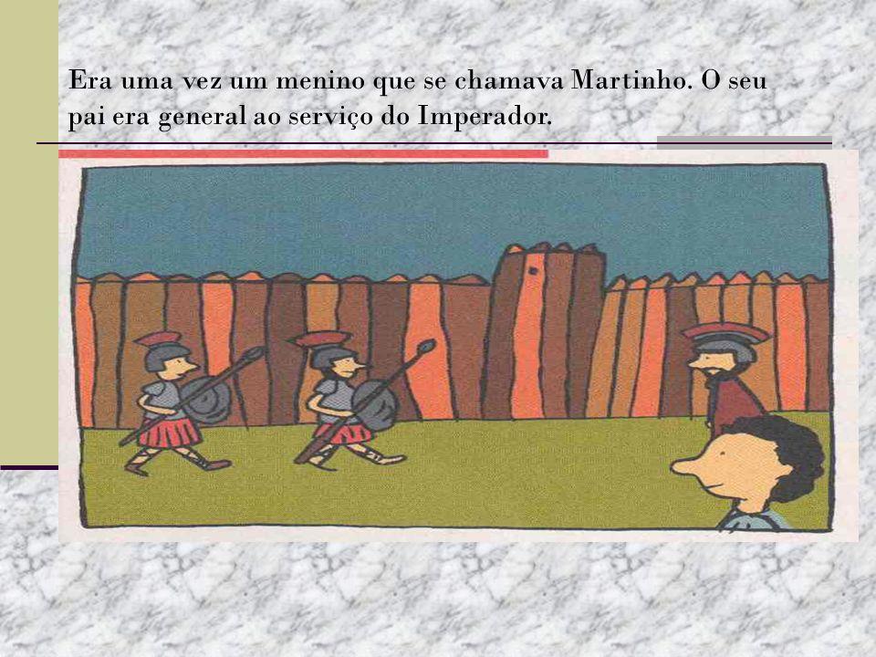 Era uma vez um menino que se chamava Martinho