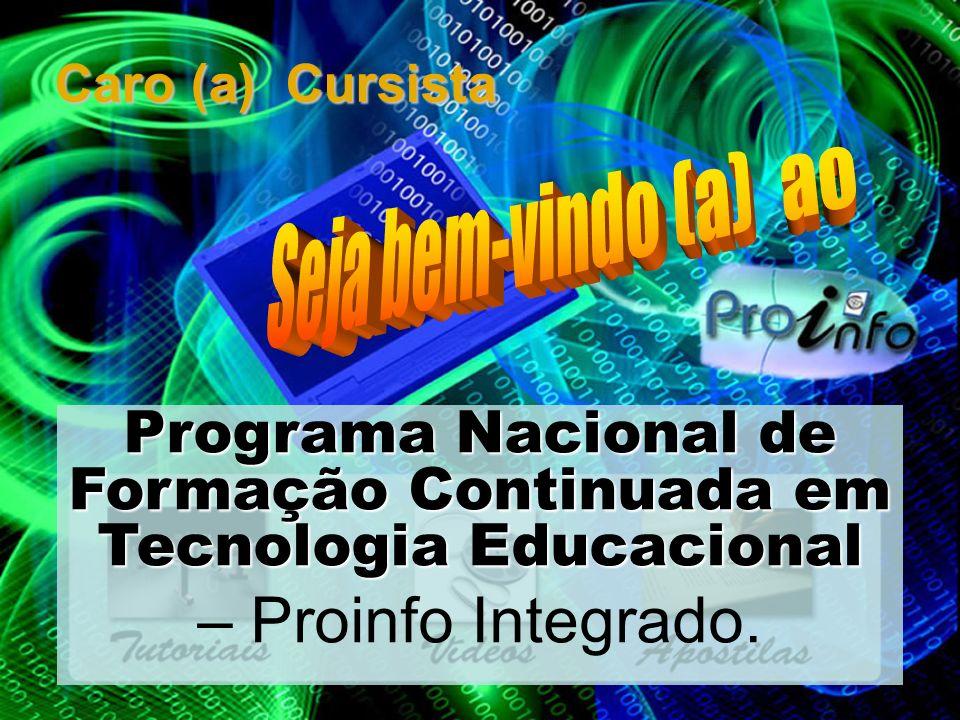 Programa Nacional de Formação Continuada em Tecnologia Educacional