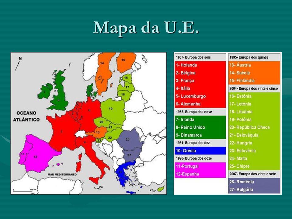 Mapa da U.E.