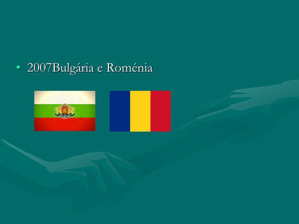 2007Bulgária e Roménia