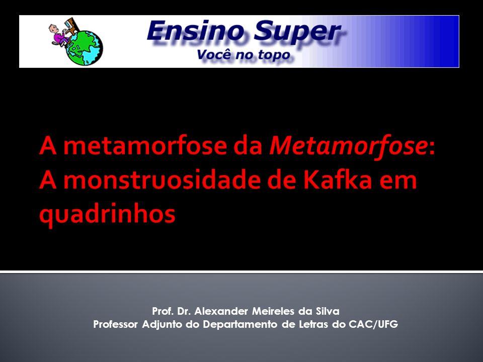 A metamorfose da Metamorfose: A monstruosidade de Kafka em quadrinhos