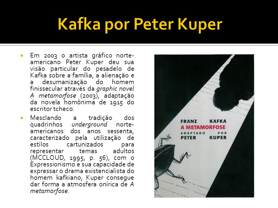 Kafka por Peter Kuper