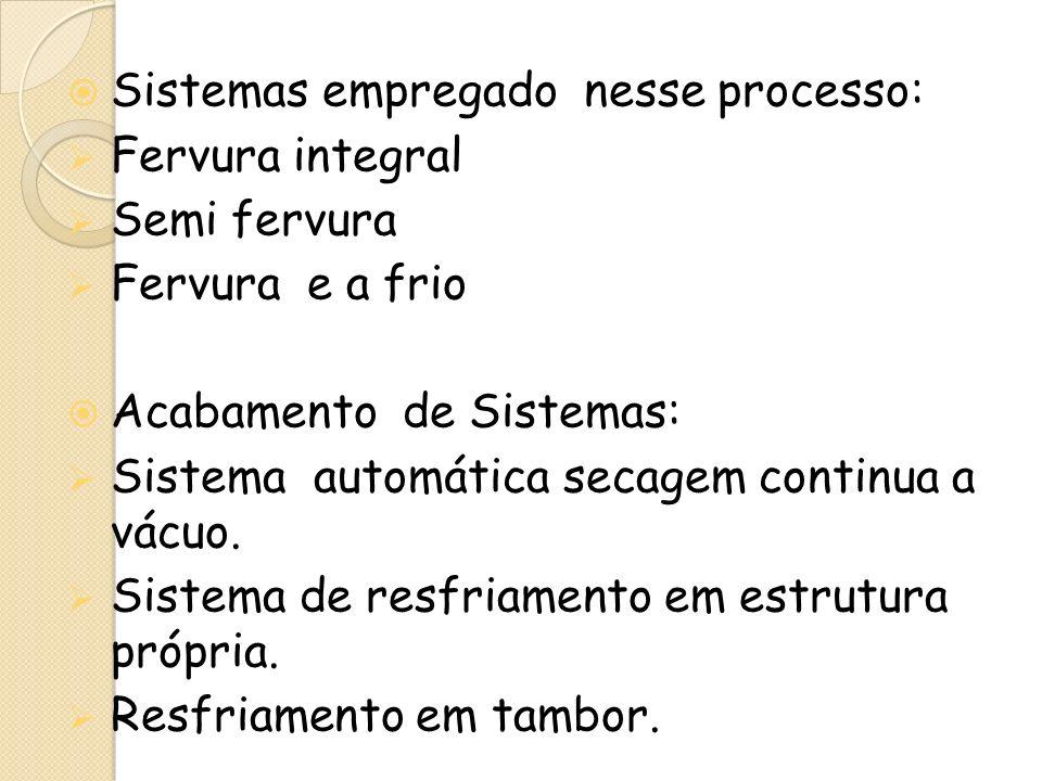 Sistemas empregado nesse processo: