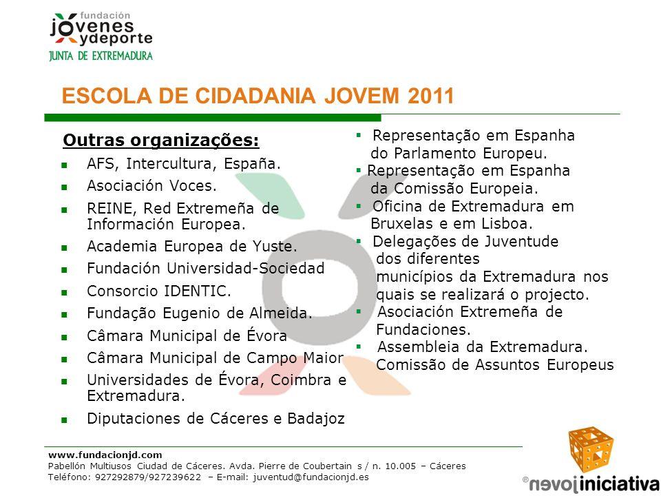 ESCOLA DE CIDADANIA JOVEM 2011
