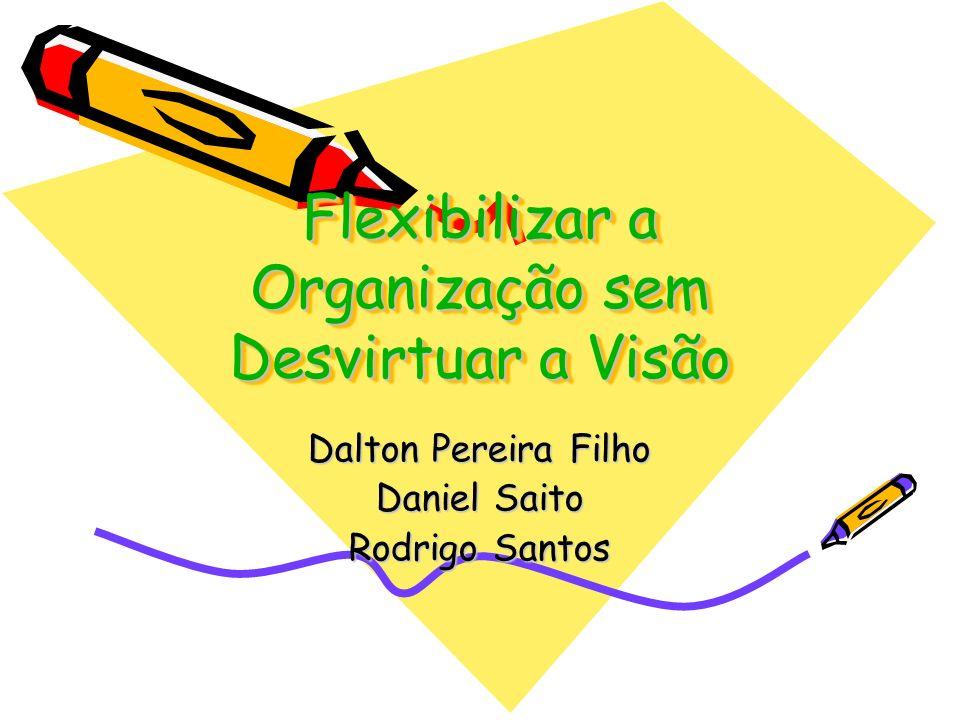 Flexibilizar a Organização sem Desvirtuar a Visão