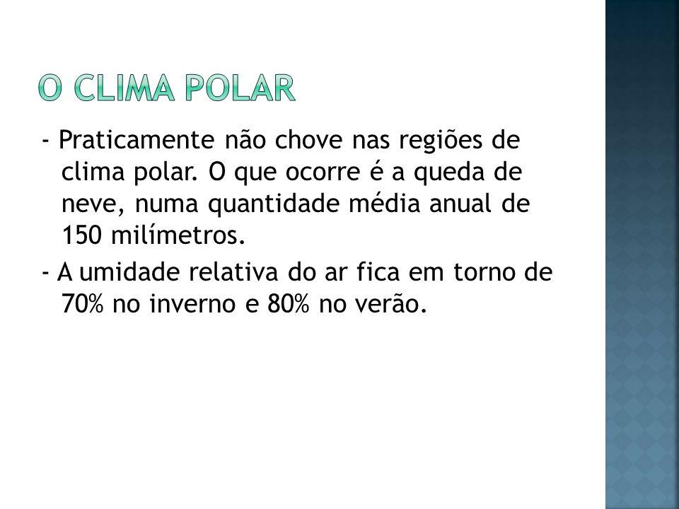 O Clima Polar