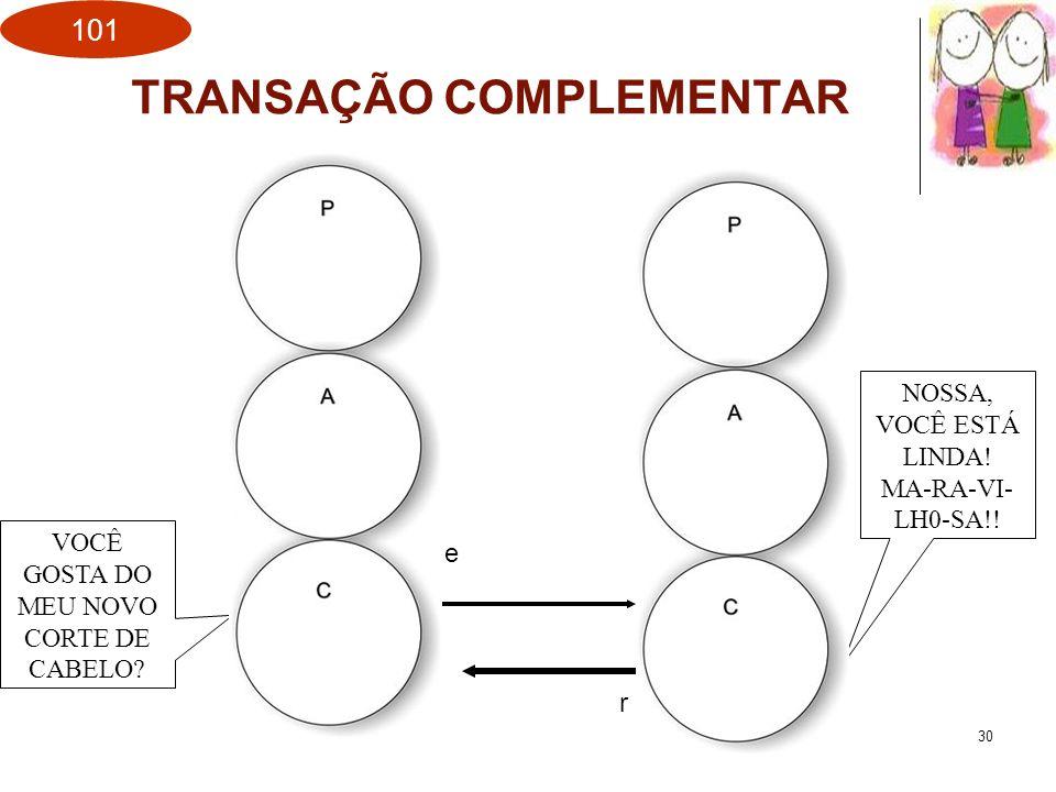 TRANSAÇÃO COMPLEMENTAR