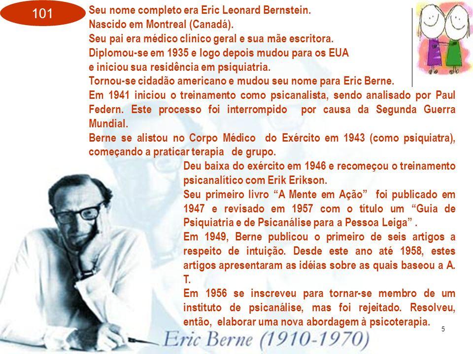 Seu nome completo era Eric Leonard Bernstein.
