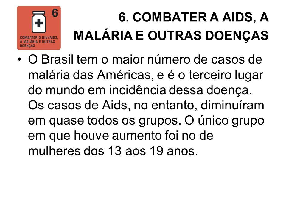 6. COMBATER A AIDS, A MALÁRIA E OUTRAS DOENÇAS