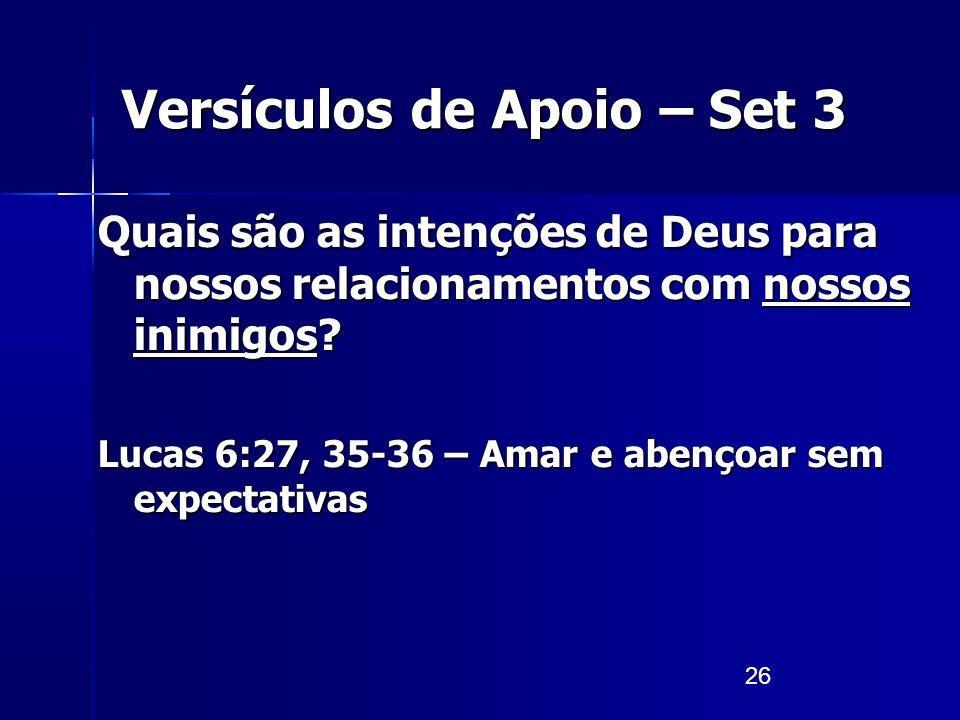 Versículos de Apoio – Set 3