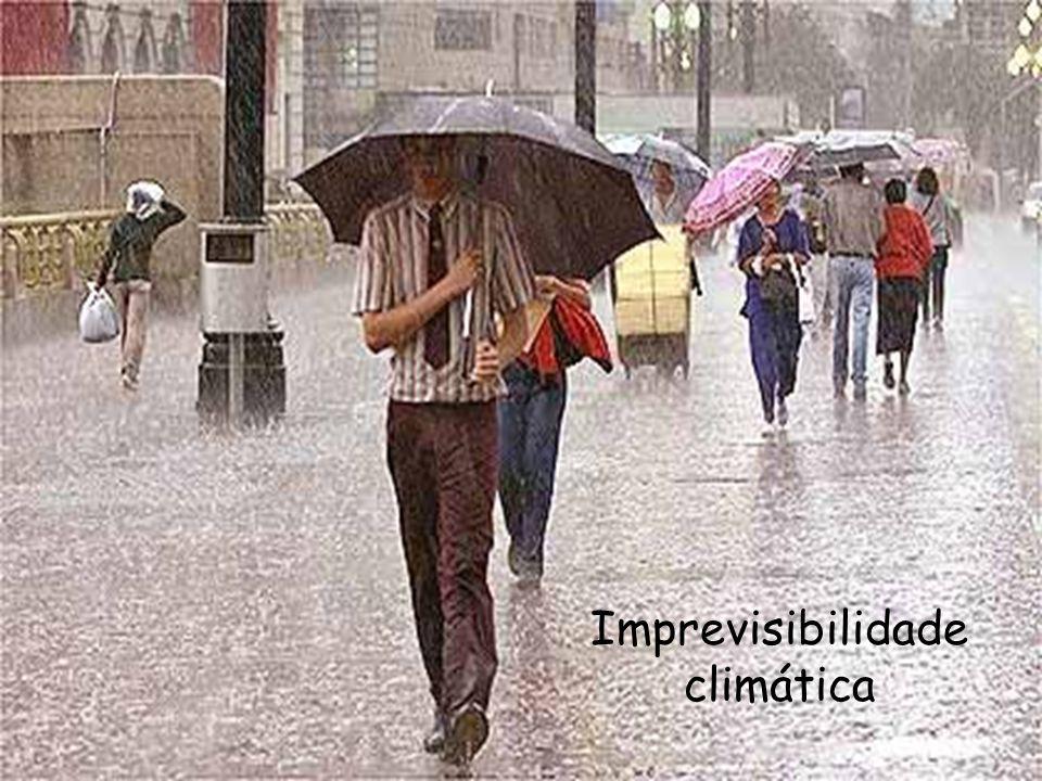 Imprevisibilidade climática