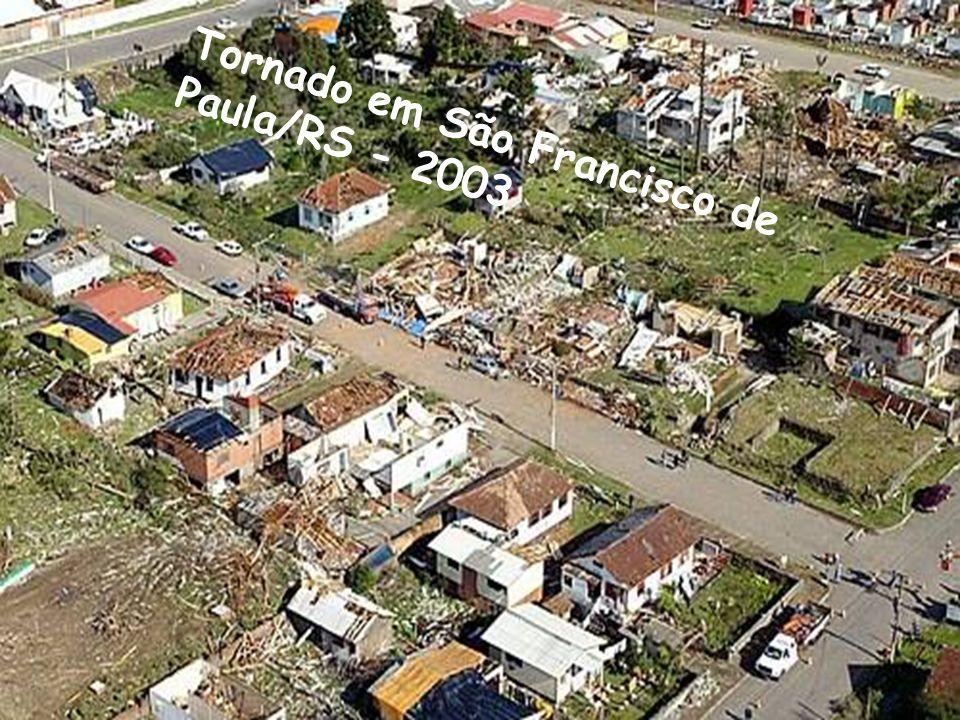 Tornado em São Francisco de Paula/RS - 2003