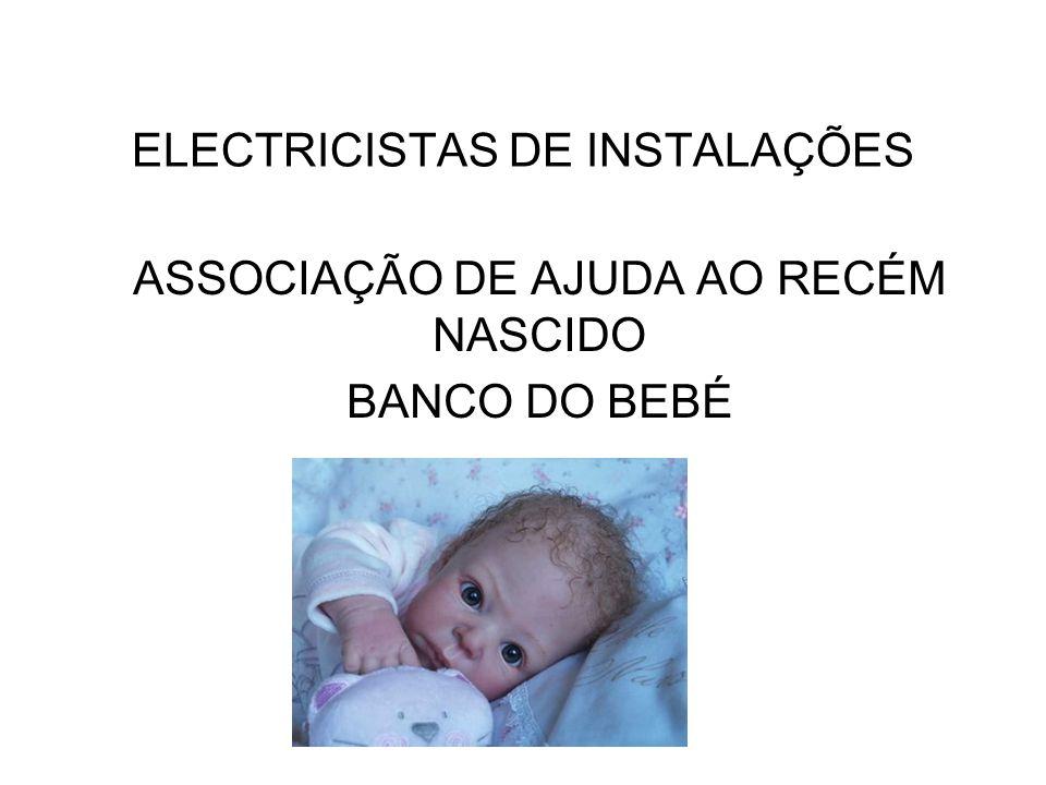 ELECTRICISTAS DE INSTALAÇÕES
