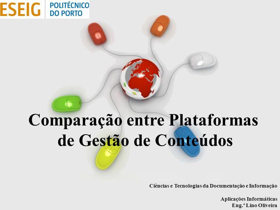 Comparação entre Plataformas