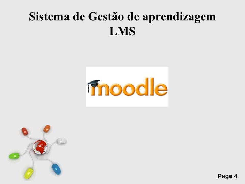 Sistema de Gestão de aprendizagem LMS