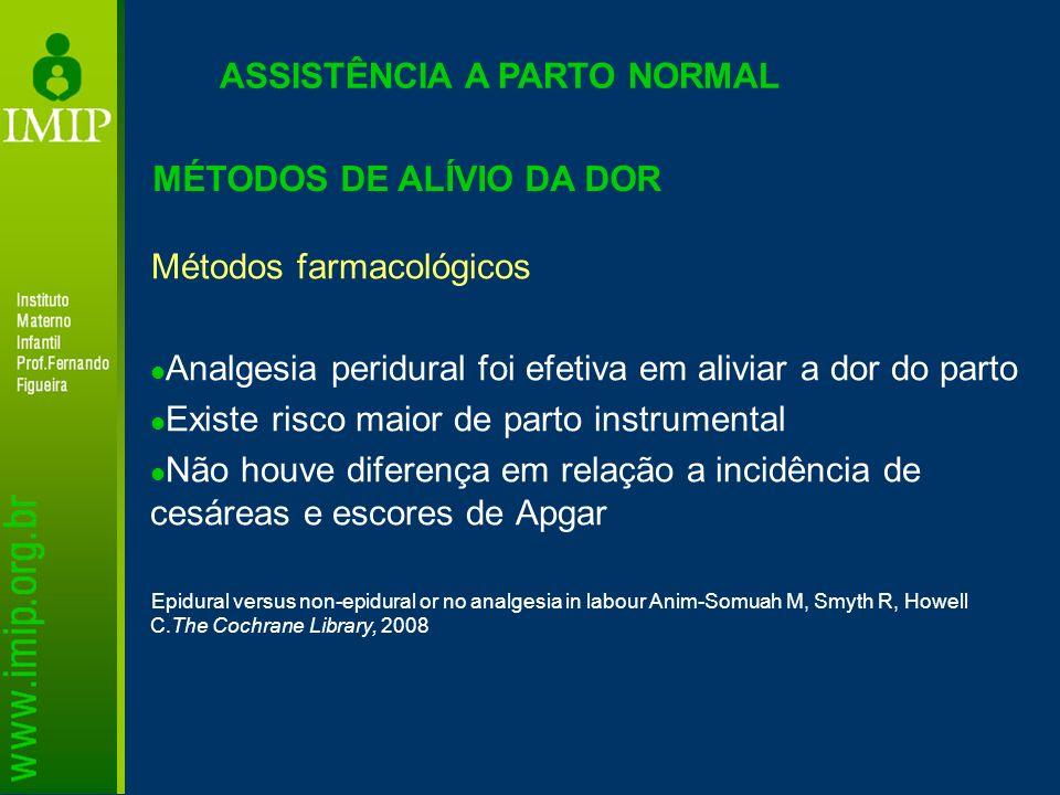 ASSISTÊNCIA A PARTO NORMAL