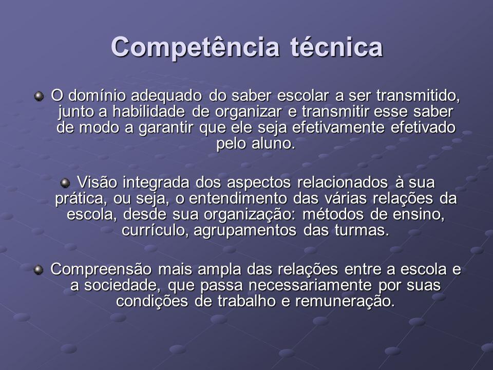 Competência técnica