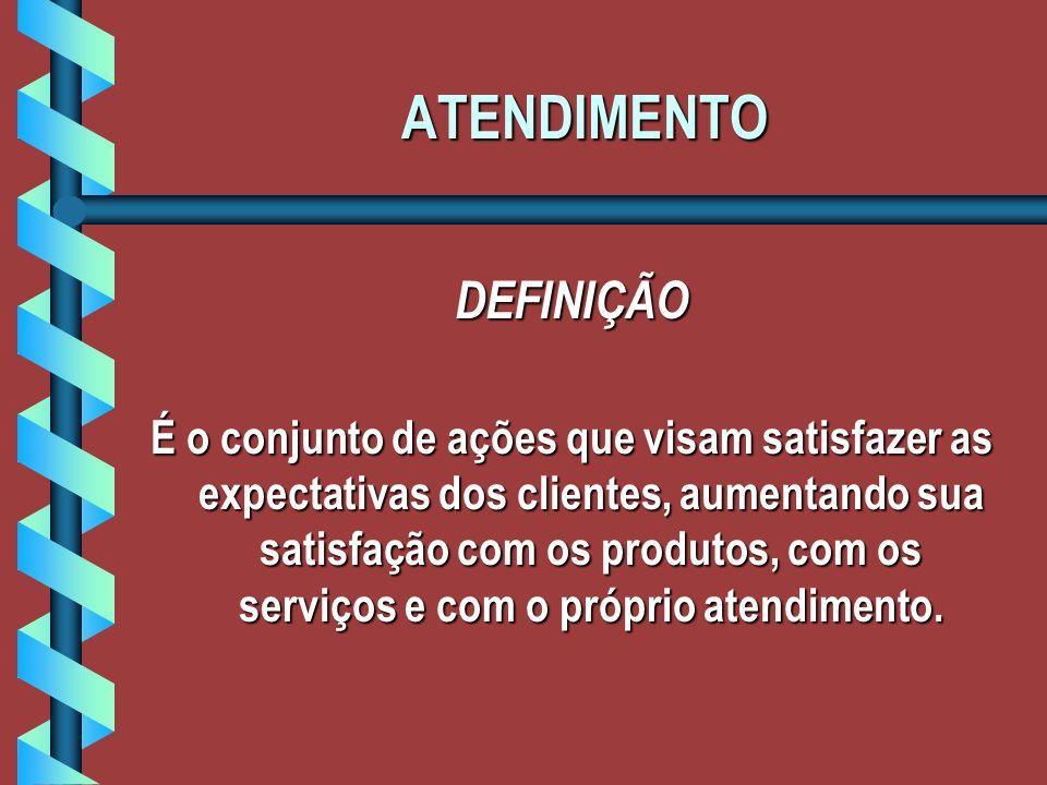 ATENDIMENTO DEFINIÇÃO