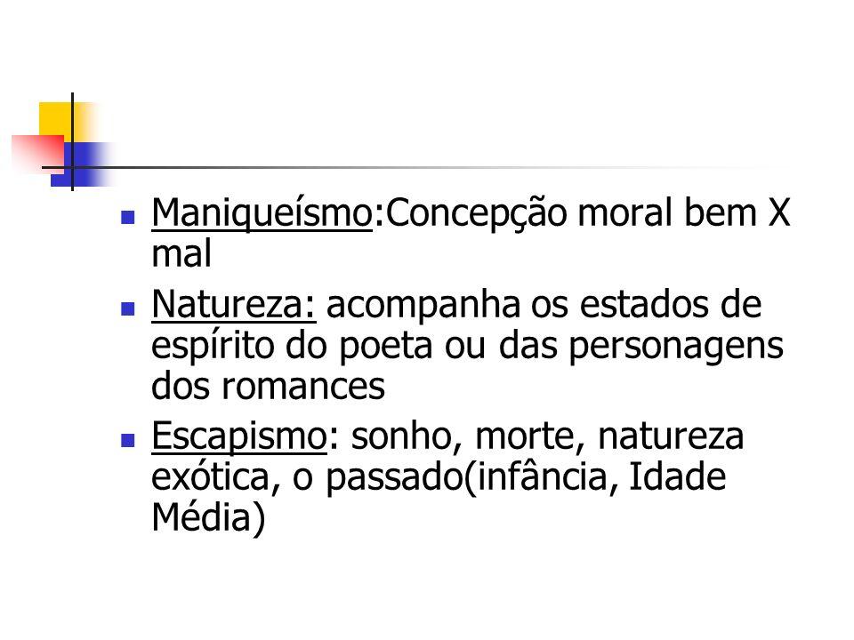 Maniqueísmo:Concepção moral bem X mal