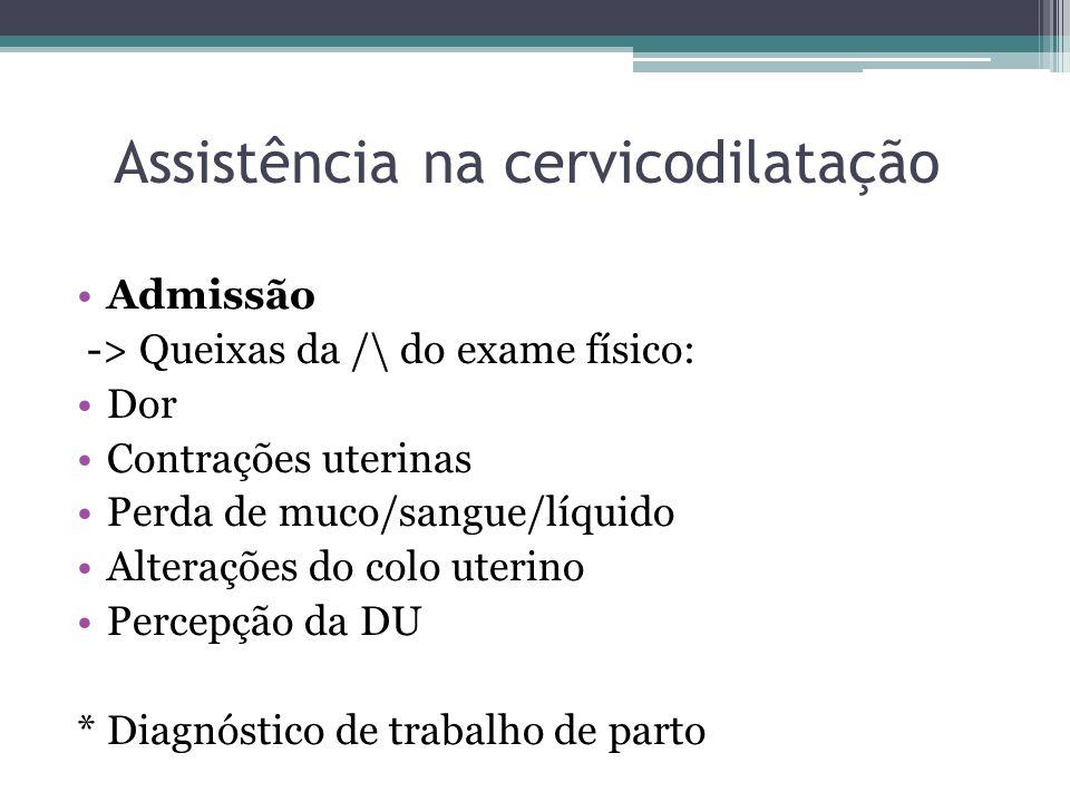 Assistência na cervicodilatação
