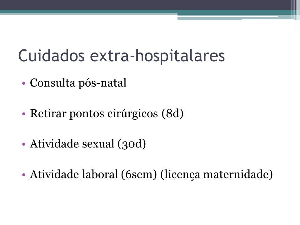 Cuidados extra-hospitalares