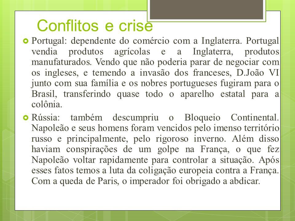 Conflitos e crise