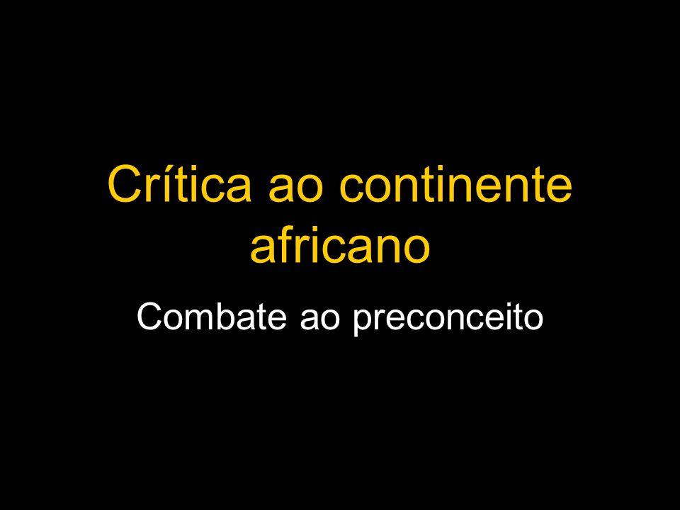 Crítica ao continente africano
