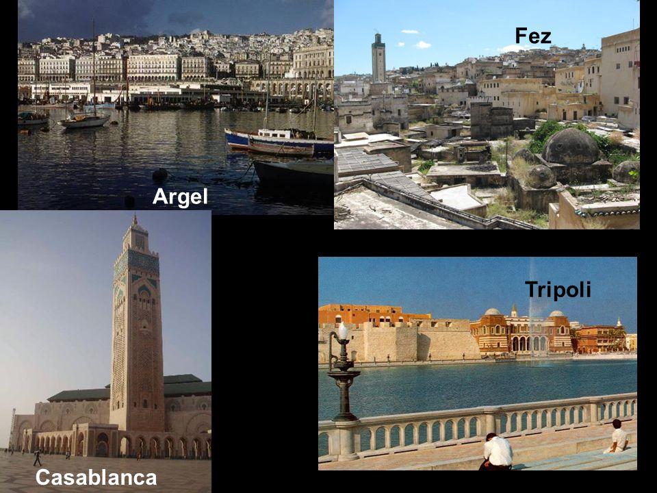 Fez Argel Tripoli Casablanca