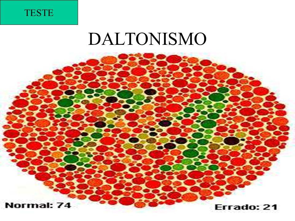 TESTE DALTONISMO