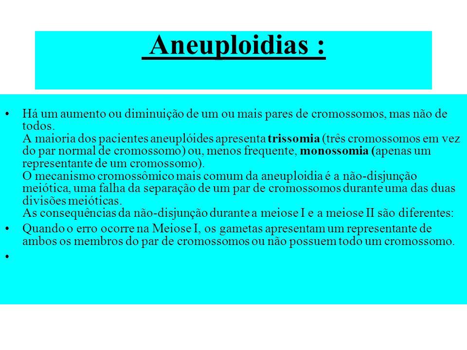 Aneuploidias :