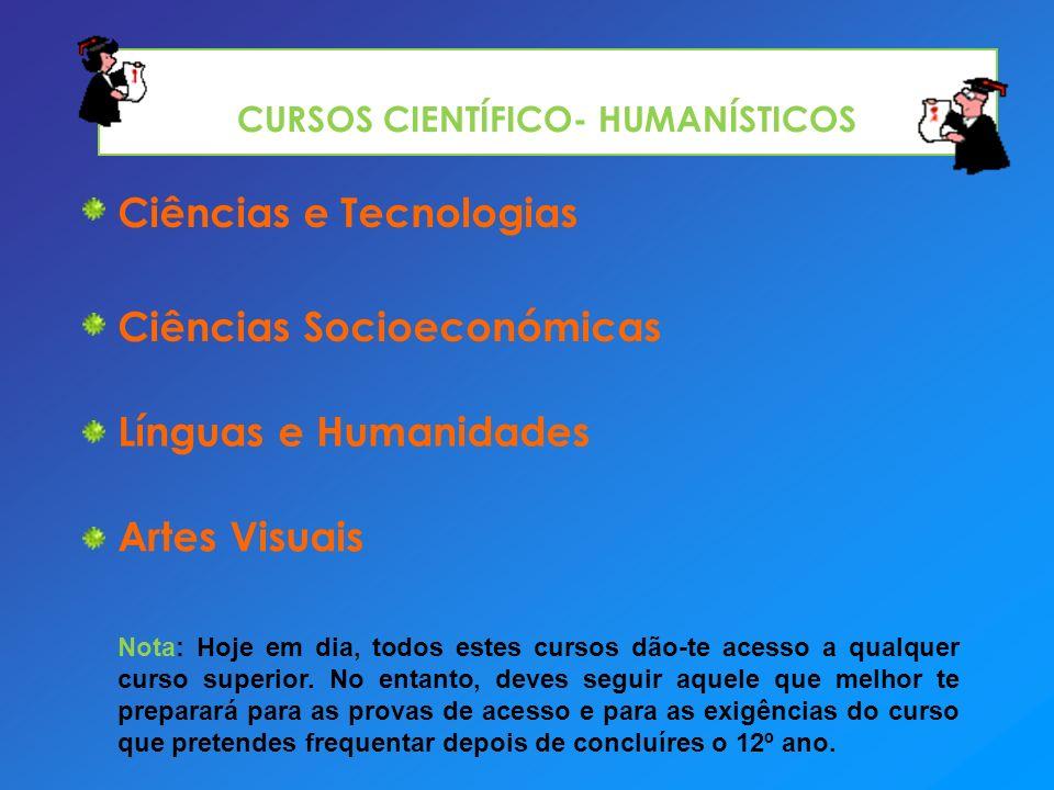 CURSOS CIENTÍFICO- HUMANÍSTICOS