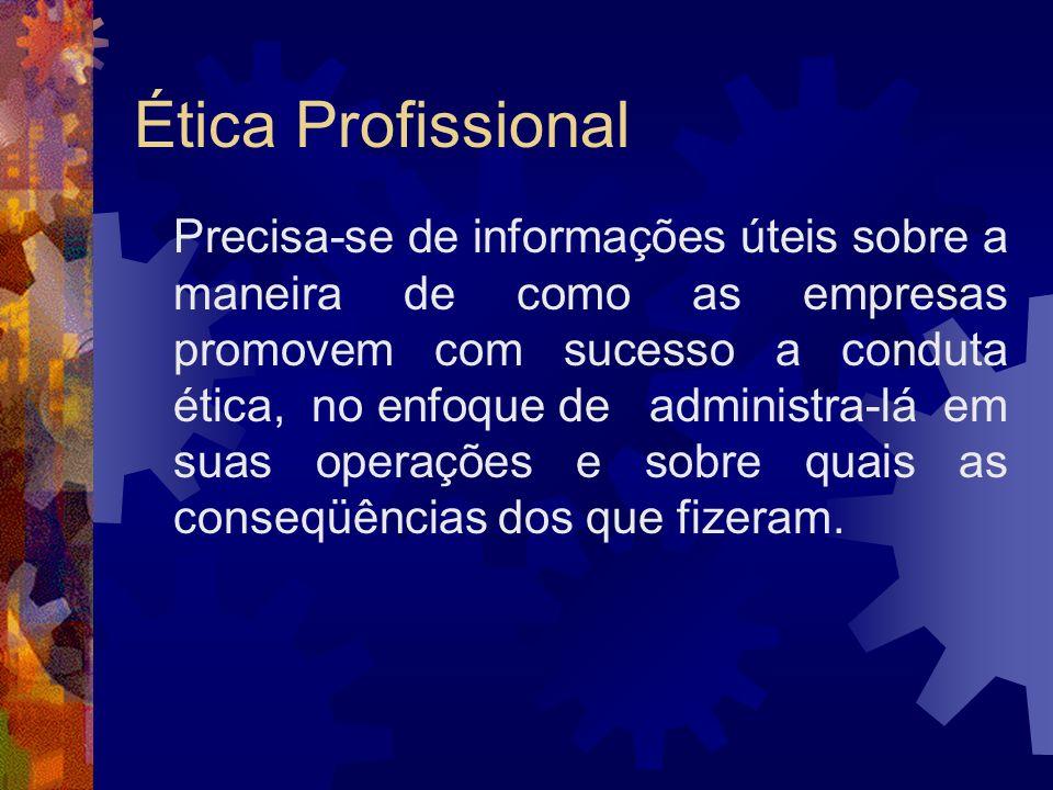 Ética Profissional