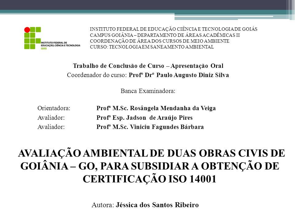 INSTITUTO FEDERAL DE EDUCAÇÃO CIÊNCIA E TECNOLOGIA DE GOIÁS