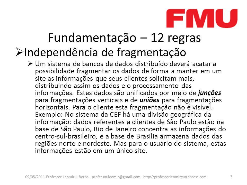 Fundamentação – 12 regras