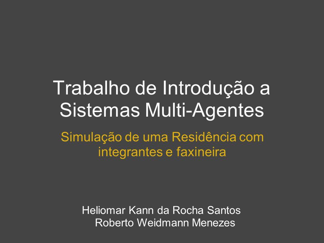 Trabalho de Introdução a Sistemas Multi-Agentes