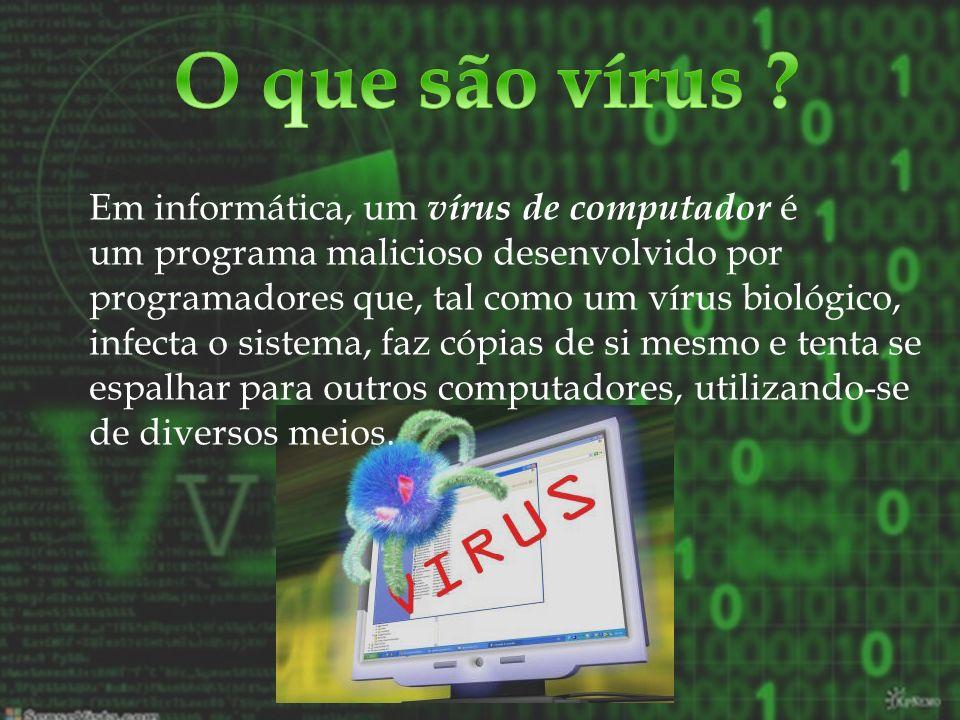 O que são vírus
