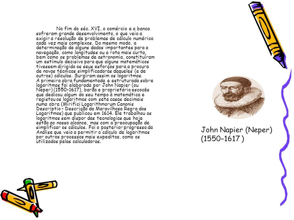 John Napier (Neper) (1550–1617 )