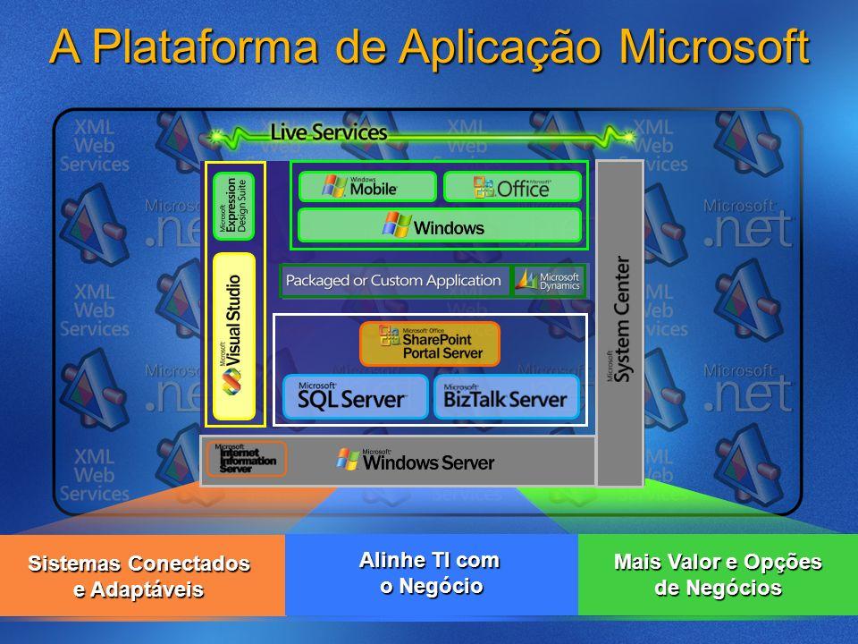 A Plataforma de Aplicação Microsoft