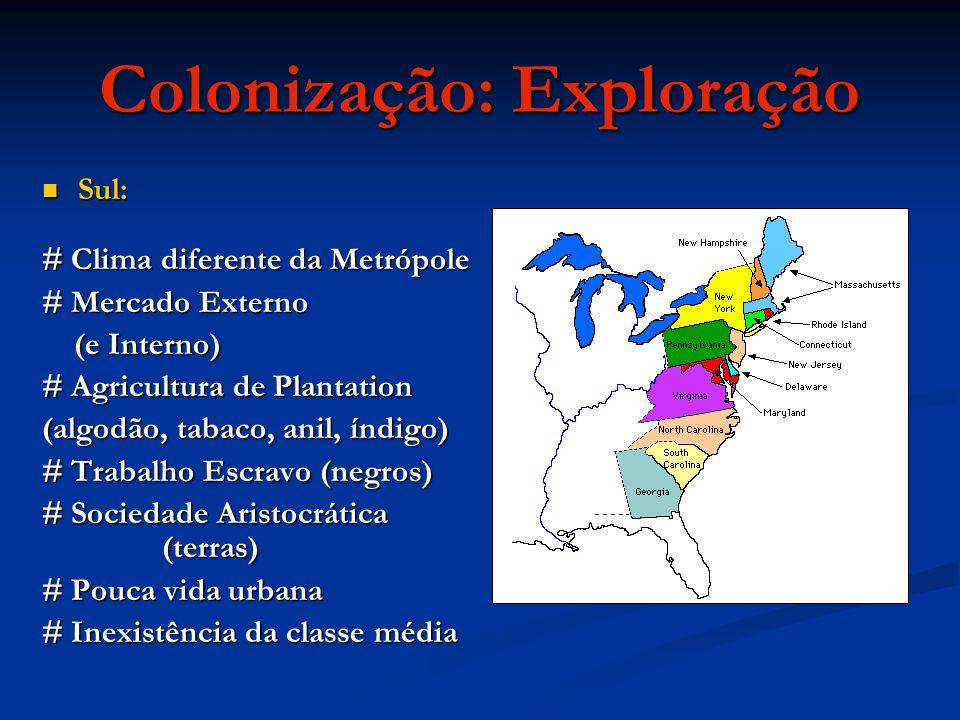 Colonização: Exploração