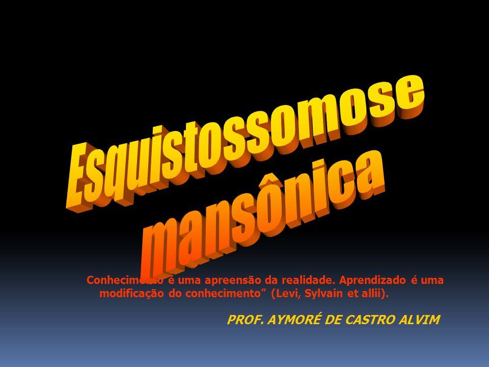 Esquistossomose mansônica PROF. AYMORÉ DE CASTRO ALVIM