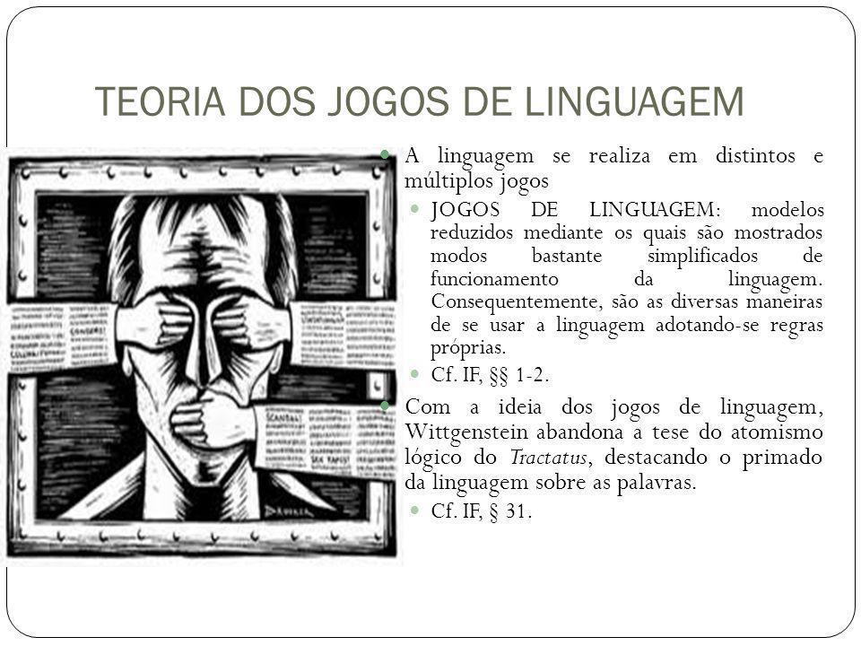 TEORIA DOS JOGOS DE LINGUAGEM