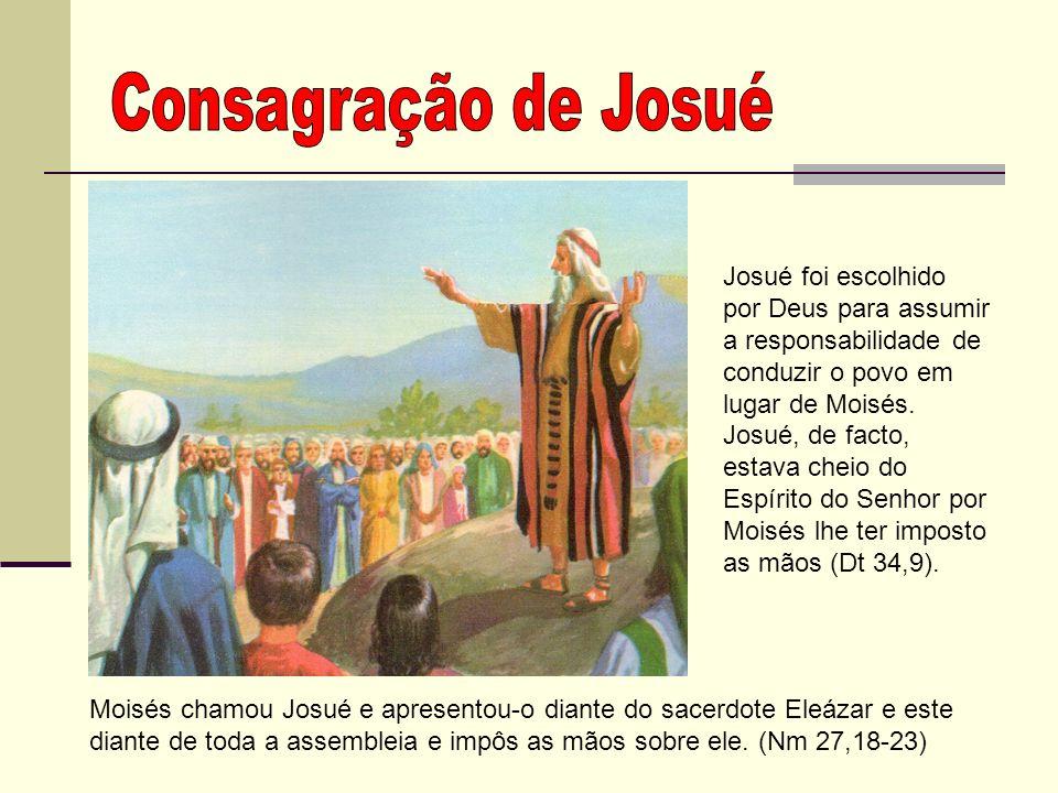 Consagração de Josué